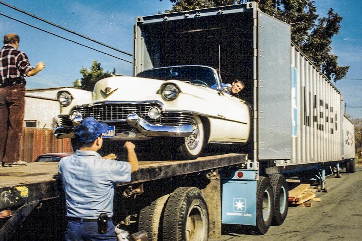 1988 Cadillac Import aus Californien - 54er Coup'e de Ville