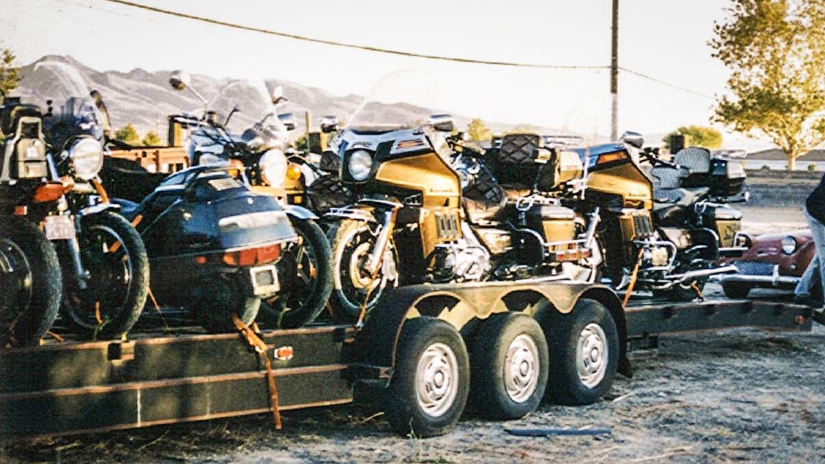 Motorräder aus Nevada